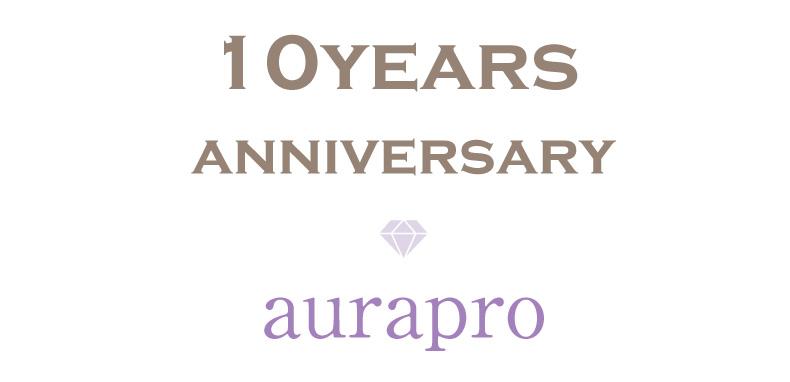 aurapro10周年感謝祭を開催